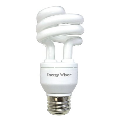 Bulbrite Industries 15W Energy Wiser Dimmable Compact Fluorescent Coil in Warm White