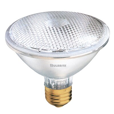 Bulbrite Industries 75W PAR30 Halogen Narrow Flood Light Bulb with E26 Base in Warm White