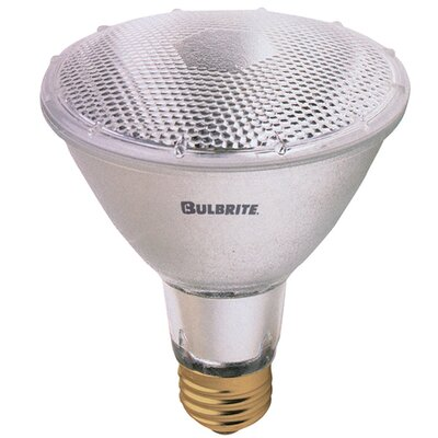 Bulbrite Industries 75W PAR30 Halogen Long Neck Narrow Flood Light Bulb with E26 Base in Warm White