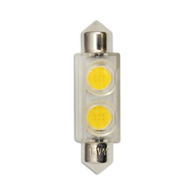 Bulbrite Industries 12V LED Miniature Festoon Bulb in Warm White
