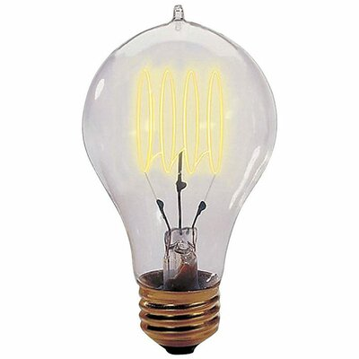 Bulbrite Industries 25W Nostalgic Edison Quad Loop-Style Bulb in Warm Glow