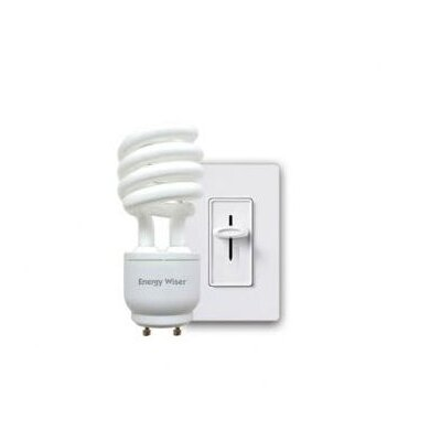 Bulbrite Industries 23W Energy Wiser Dimmable Compact Fluorescent Coil in Warm White