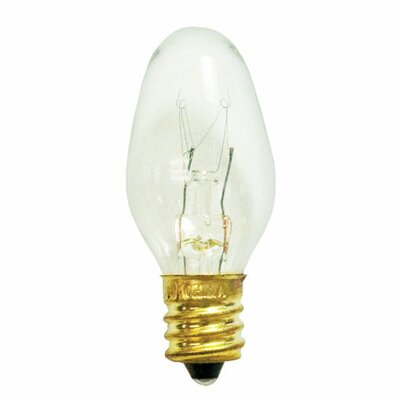 Bulbrite Industries 4W C7 Christmas Light in Clear