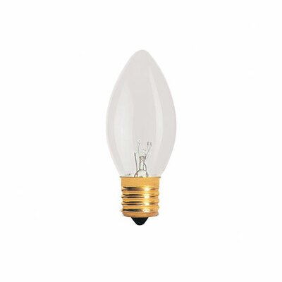 Bulbrite Industries 7W Incandescent Replacement Night Light in Clear