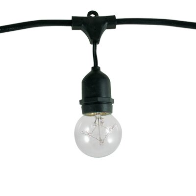 Bulbrite Industries 15 Light Outdoor String Light