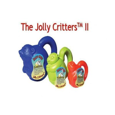 Jolly Pets Critter II Squirrel Dog Toy
