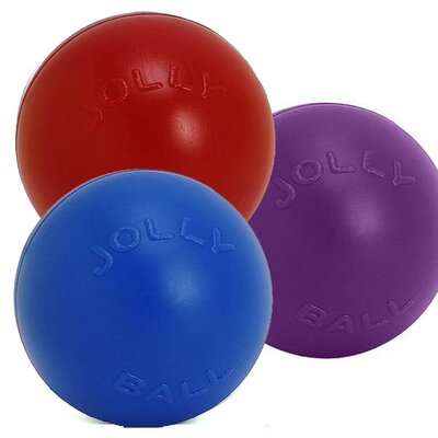 Jolly Pets Push-n-Play Ball Dog Toy