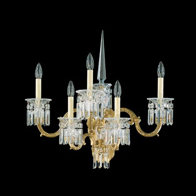 Schonbek Dorchester Five Light Wall Sconce