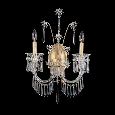 Schonbek Kirov Two Light Wall Sconce