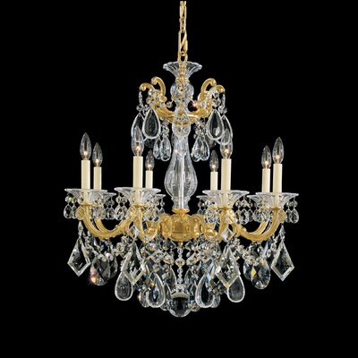 Schonbek La Scala 8 Light Chandelier