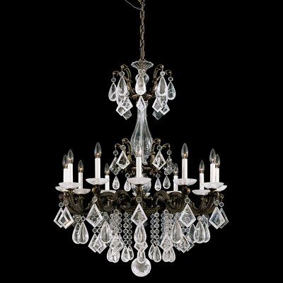 Schonbek La Scala 12 Light Chandelier
