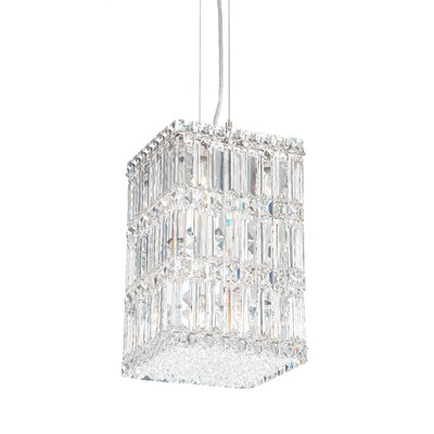 Quantum 9 Light Chandelier with Swarovski Crystal