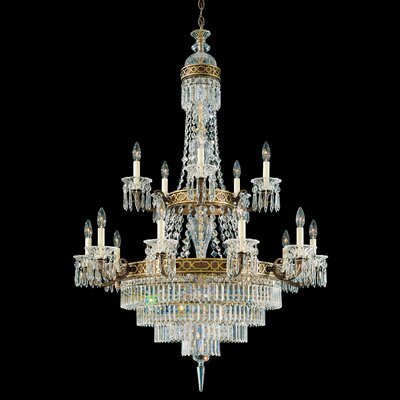 Schonbek Romanoff 20 Light Chandelier