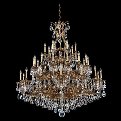 Sophia 35 Light Foyer Chandelier