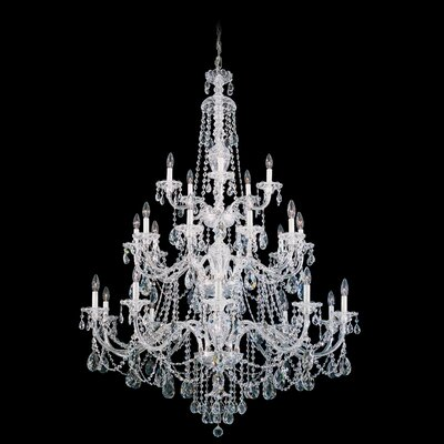 Schonbek Sterling 25 Light Chandelier