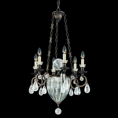 Vendome 8 Light Mini Chandelier