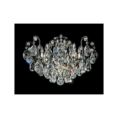 Schonbek Renaissance 8 Light Flush Mount