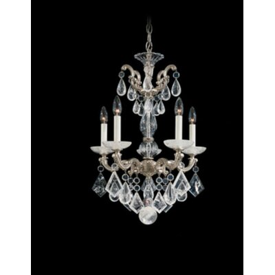 Schonbek La Scala Rock Crystal 5 Light Chandelier