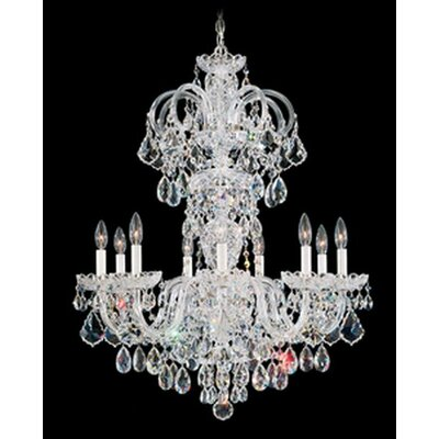 Schonbek Olde World 9 Light Chandelier