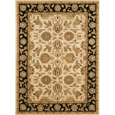 Meadow Breeze Ivory/Black Rug