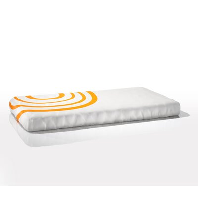 Nook Sleep Systems Organic Fitted Ripple Crib Sheet