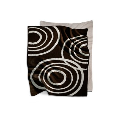 Nook Sleep Systems Organic Knit Blanket in Bark Brown