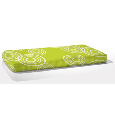 Organic Fitted Puddle Crib Sheet