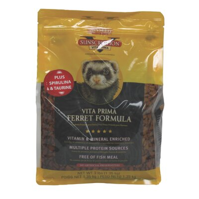 SunSeed 3 lbs Vita Prima Ferret Diet Food