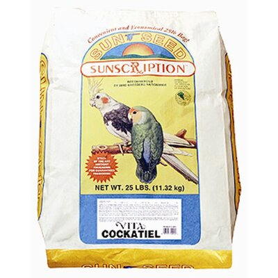 SunSeed 25 lbs Vita Cockatiel Food