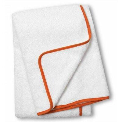 Orange Piped Bath Towel