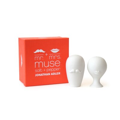 Mr. and Mrs. Muse Salt and Pepper Mills