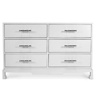 Preston 6 Drawer Console Table