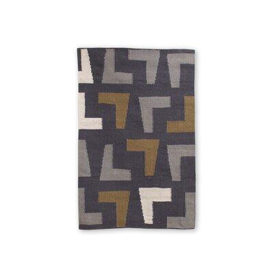 Jonathan Adler Arthur Kilim Slate/Grey Rug