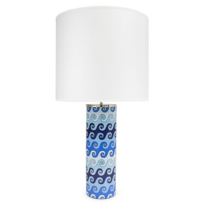 Jonathan Adler Carnaby 1 Light Waves Table Lamp