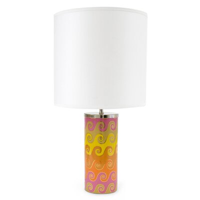 Jonathan Adler Carnaby 1 Light Waves Small Table Lamp