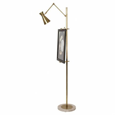 Jonathan Adler Bristol 1 Light Floor Easel Lamp