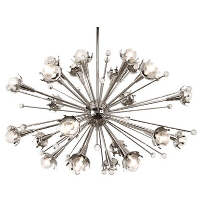 Jonathan Adler Sputnik 24 Light Chandelier