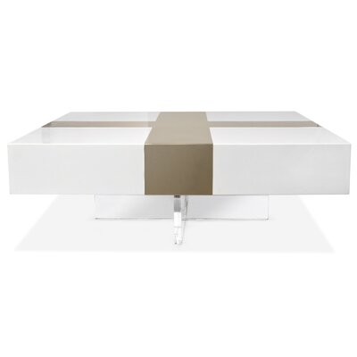 Jonathan Adler Lacquer Laminate Coffee Table