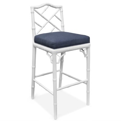 Jonathan Adler Chippendale Bar Stool