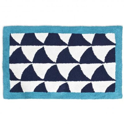 Jonathan Adler Fish Scales Bath Rug