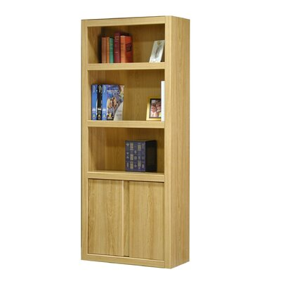 "Rush Furniture Charles Harris 72"" H Bookcase in Honey"