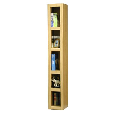 "Rush Furniture Charles Harris 72"" H Tower Bookcase in Honey"