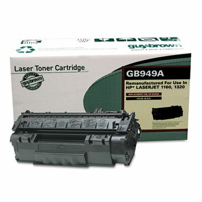 Guy Brown Products GB949A (Q5949A) Remanufactured Laser Cartridge, Black
