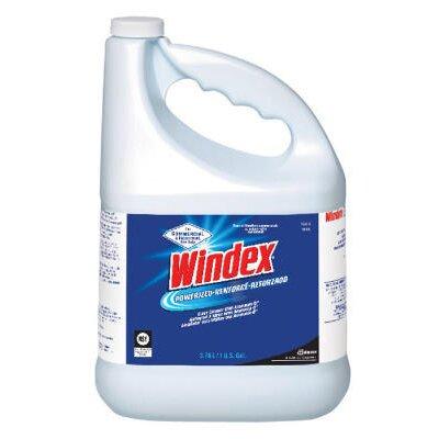 Windex® Antibacterial Multi-Surface Cleaner Lemon Scent Trigger Spray Bottle