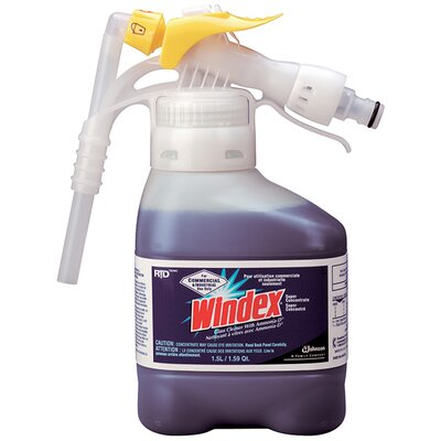 Windex® Super Concentrate Glass Cleaner with Liquid Bottle