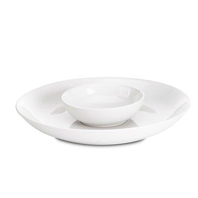 "Noritake Colorwave 13.75"" Chip and Dip Platter"