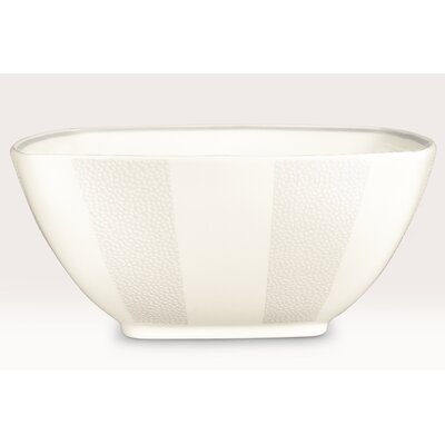 "<strong>Noritake</strong> Falling Snow 5.75"" Medium Square Bowl"