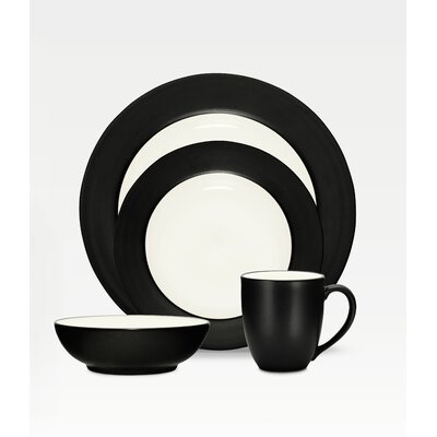 Noritake Colorwave Rim 4 Piece Place Setting