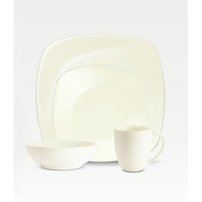 Colorwave Square Dinnerware Set