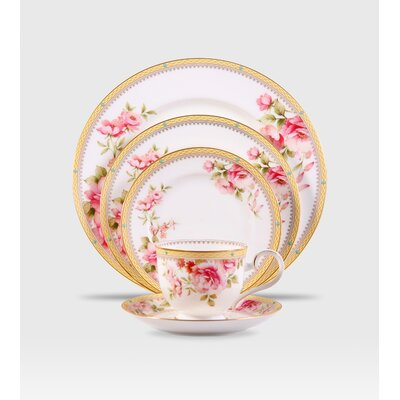 Noritake Hertford 5 Piece Place Setting